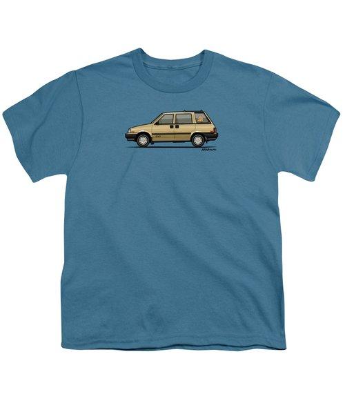 Nissan Stanza / Prairie 4wd Wagon Gold Youth T-Shirt