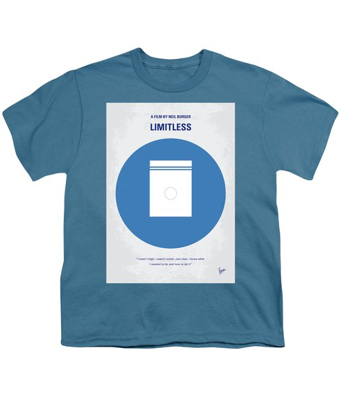 No828 My Limitless Minimal Movie Poster Youth T-Shirt
