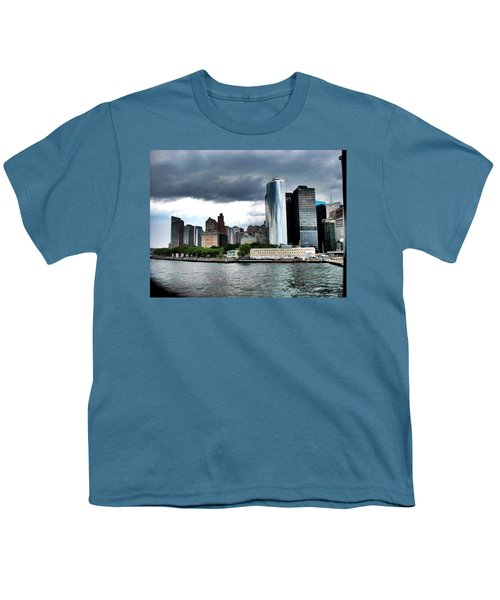 Nyc3 Youth T-Shirt by Donna Andrews