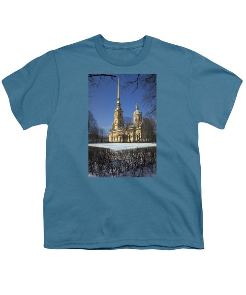 Peter And Paul Cathedral Youth T-Shirt by Travel Pics