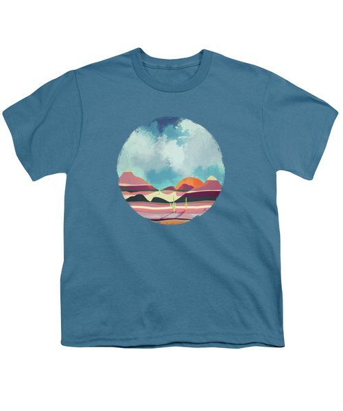 Pink Desert Glow Youth T-Shirt
