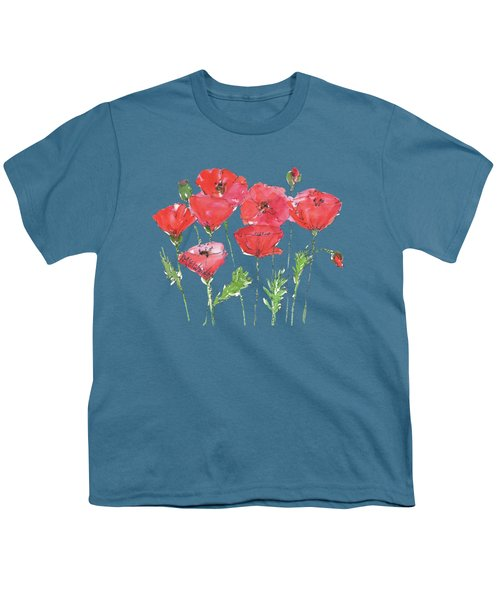 Poppy Garden Youth T-Shirt