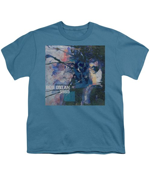 Positively 4th Street Youth T-Shirt by Paul Lovering