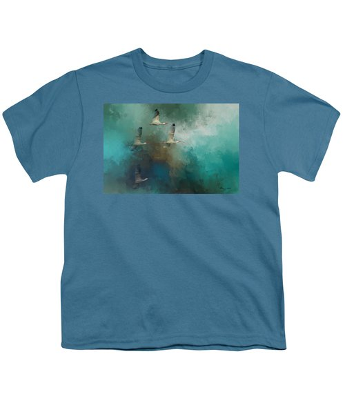 Riding The Winds Youth T-Shirt by Marvin Spates