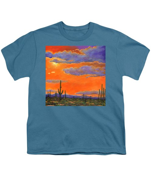 Saguaro Sunset Youth T-Shirt