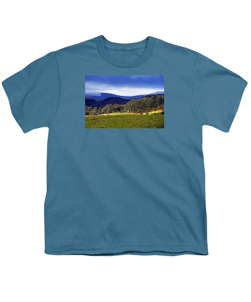 Youth T-Shirt featuring the photograph Scottish Scenery by Jeremy Lavender Photography