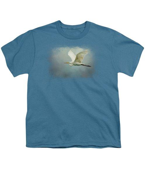Sea Flight Youth T-Shirt by Jai Johnson