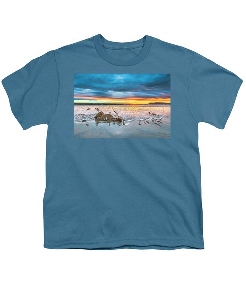 Seagull Sunset Youth T-Shirt