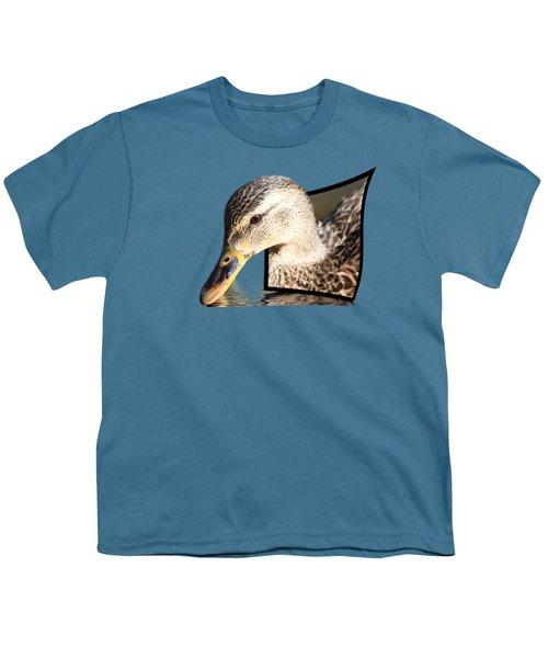 Seeking Water Youth T-Shirt by Shane Bechler