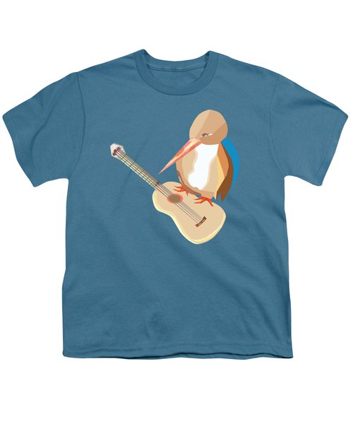 Shall Strum The Strings Unto The Lord D Youth T-Shirt by Thecla Correya