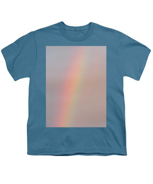 Simple Desert Rainbow Youth T-Shirt