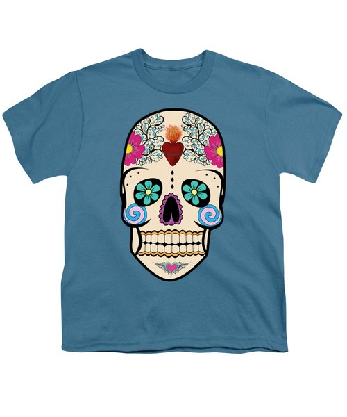 Skeleton Keyz Youth T-Shirt by LozMac