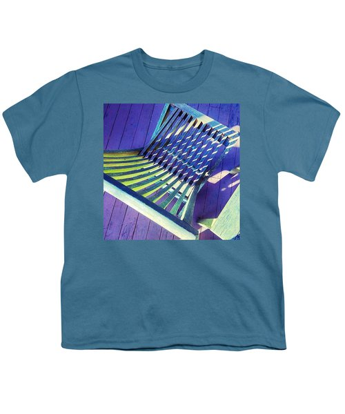 Sunlight On My Deck Chair, Color Study Youth T-Shirt