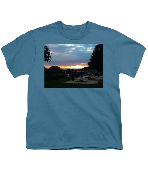 Sunset In Brighton Youth T-Shirt