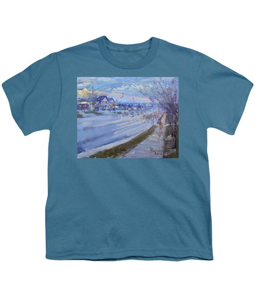 Sunset In Guelph St Georgetown On Youth T-Shirt