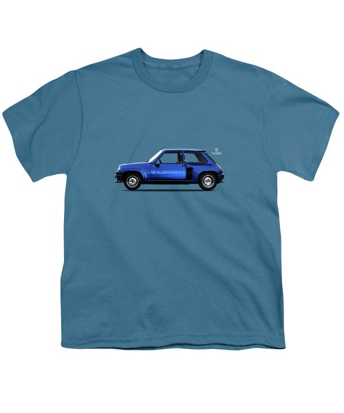 The Renault 5 Turbo Youth T-Shirt by Mark Rogan