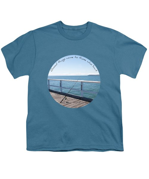 Youth T-Shirt featuring the photograph The Rod by Linda Lees