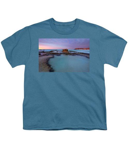 Tidepool Dawn Youth T-Shirt by Mike  Dawson