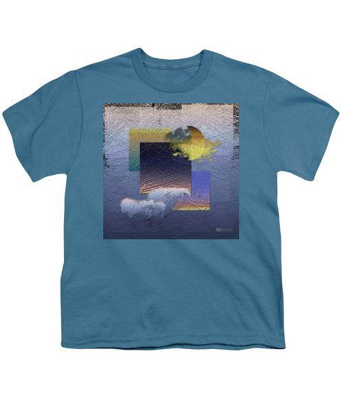 Twilight Interrupted By Ocean Breeze Youth T-Shirt by Serge Averbukh
