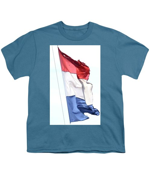 Youth T-Shirt featuring the photograph Unfurl 02 by Stephen Mitchell
