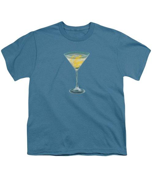 Vesper Martini Youth T-Shirt by Anastasiya Malakhova