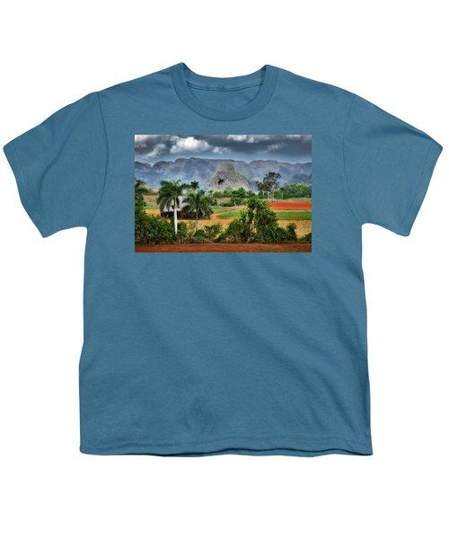 Vinales. Pinar Del Rio. Cuba Youth T-Shirt