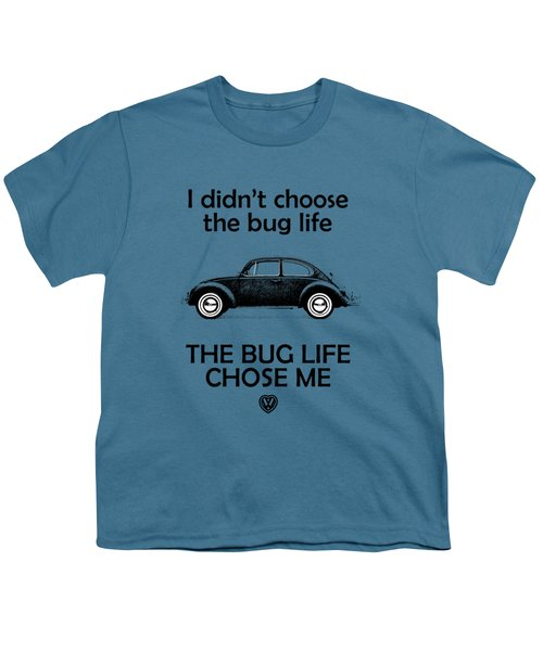 Volkswagen Beetle 1969 Youth T-Shirt by Mark Rogan