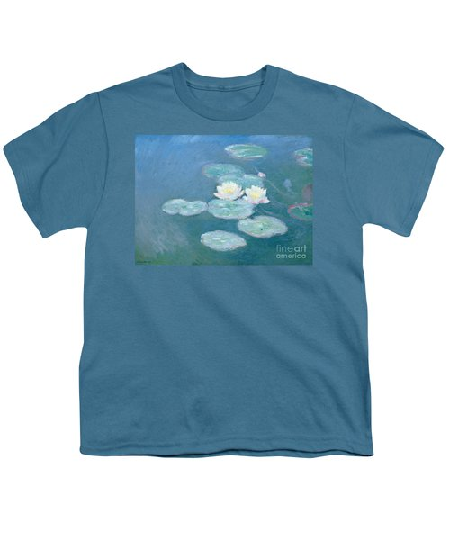 Waterlilies Evening Youth T-Shirt