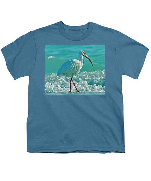White Ibis Paradise Youth T-Shirt
