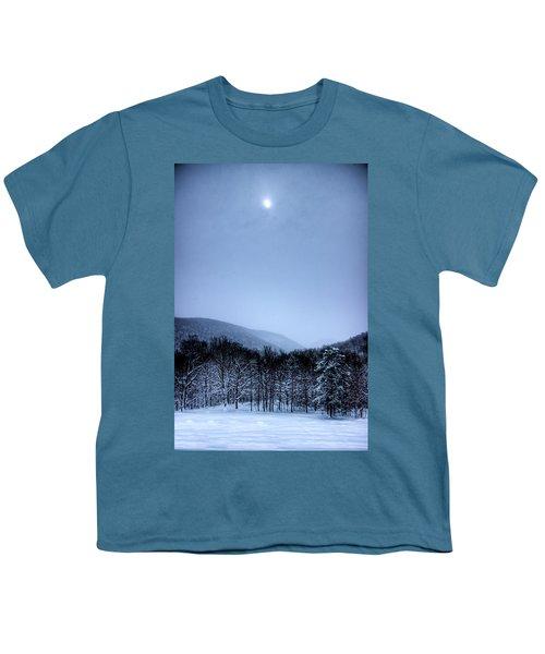 Winter Sun Youth T-Shirt by Jonny D