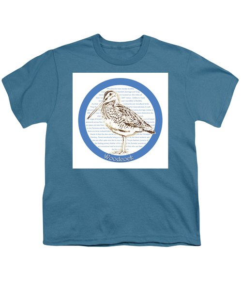 Woodcock Youth T-Shirt by Greg Joens