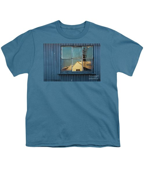 Youth T-Shirt featuring the photograph Work View 1 by Werner Padarin