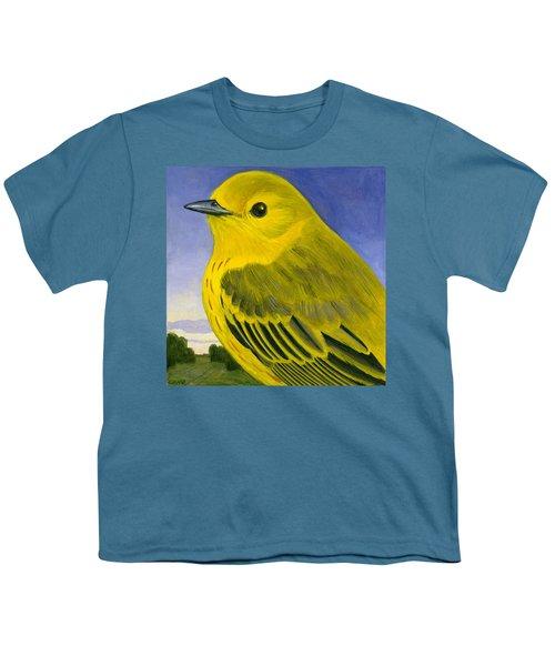 Yellow Warbler Youth T-Shirt