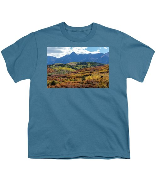 Youth T-Shirt featuring the photograph Colorado Color Bonanza by James BO Insogna