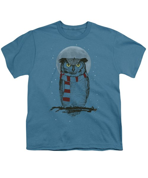 Winter Owl Youth T-Shirt