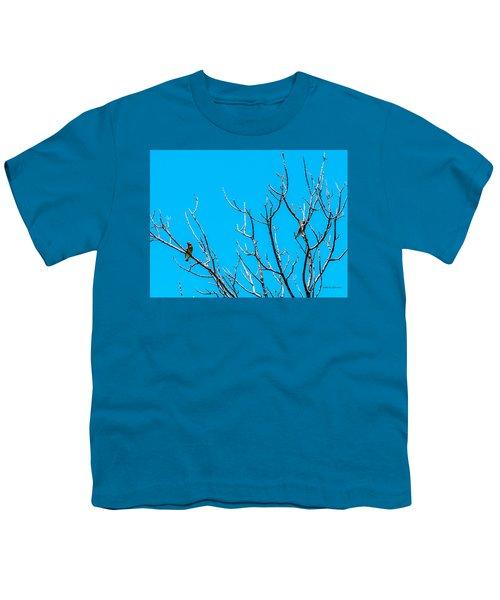 Cedar Wax Wings Youth T-Shirt
