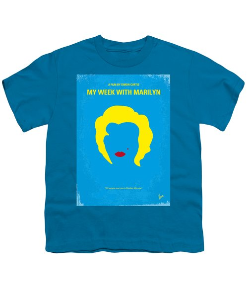 No284 My Week With Marilyn Minimal Movie Poster Youth T-Shirt