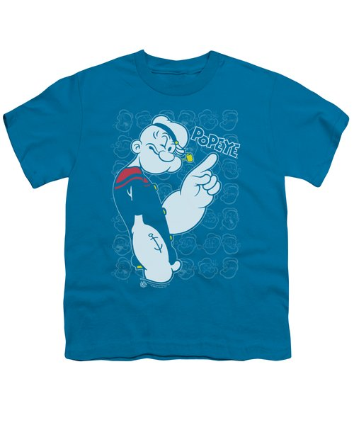 Popeye - Get To The Point Youth T-Shirt