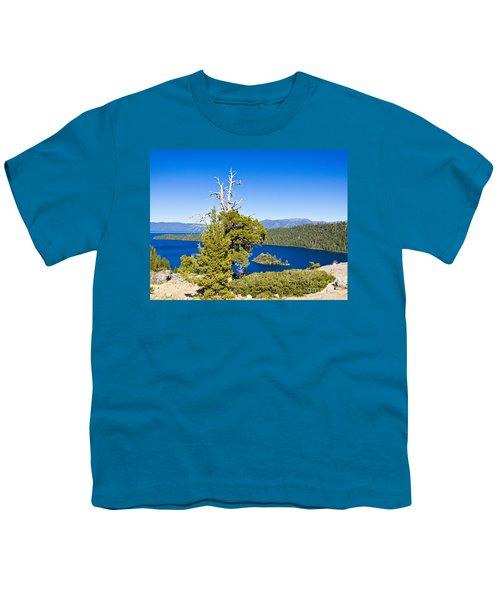 Sky Blue Water - Emerald Bay - Lake Tahoe Youth T-Shirt