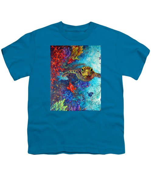 Turtle Wall 2 Youth T-Shirt