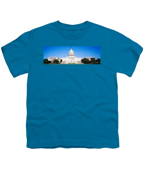 Us Capitol, Washington Dc, District Of Youth T-Shirt