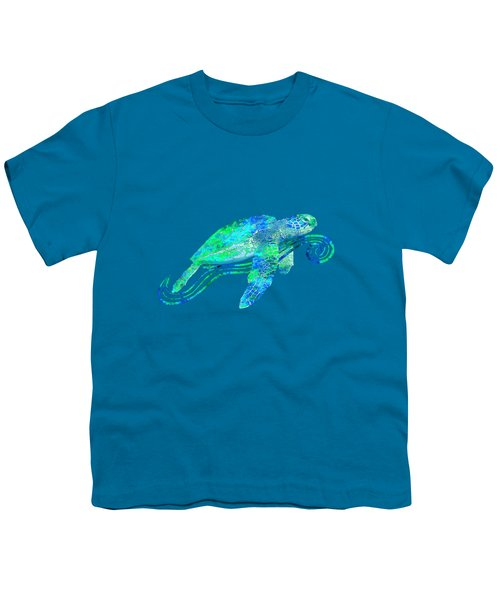 Sea Turtle Graphic Youth T-Shirt by Chris MacDonald