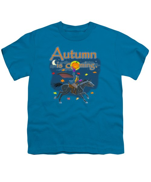 Autumn Is Coming Youth T-Shirt