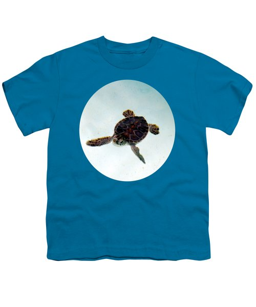 Youth T-Shirt featuring the photograph Baby Turtle by Francesca Mackenney