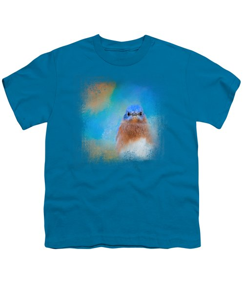 Blue Is Beautiful Youth T-Shirt by Jai Johnson