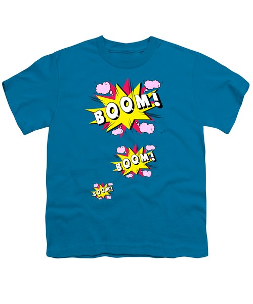 Boom Comics Youth T-Shirt by Mark Ashkenazi