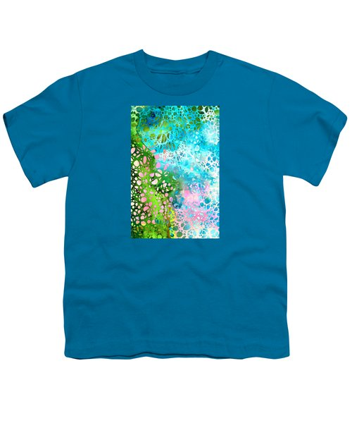 Colorful Art - Enchanting Spring - Sharon Cummings Youth T-Shirt by Sharon Cummings