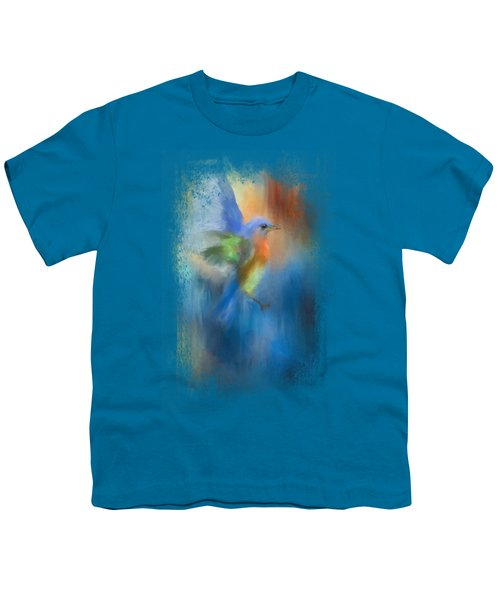 Flight Of Fancy Youth T-Shirt by Jai Johnson