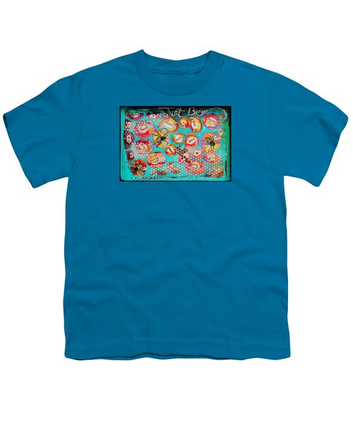 Just Bee Youth T-Shirt by DAKRI Sinclair