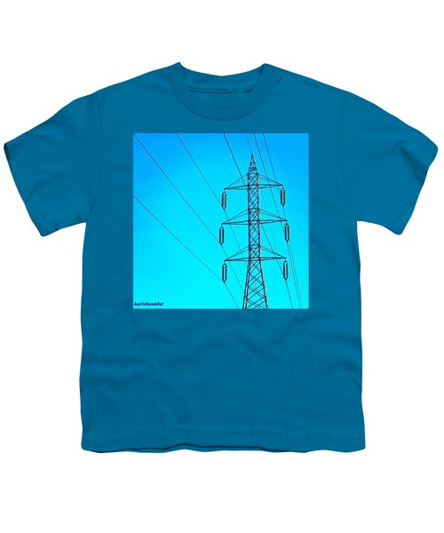 Just Feeling #electric!  2nd Photo For Youth T-Shirt